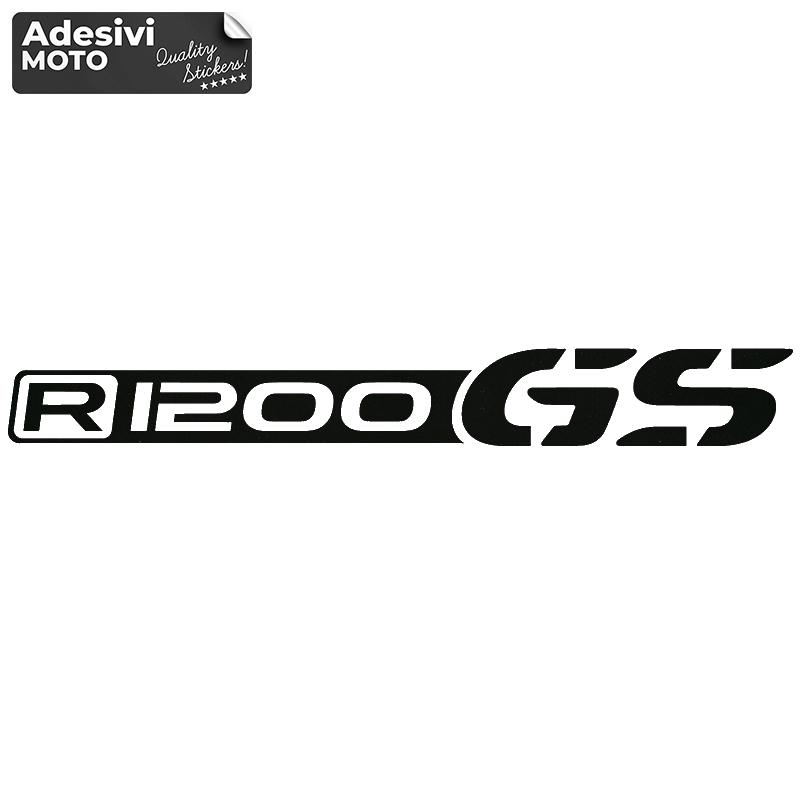 """Adesivo """"R 1200 GS"""" Bmw Tipo 2 Serbatoio-Codone-Casco"""