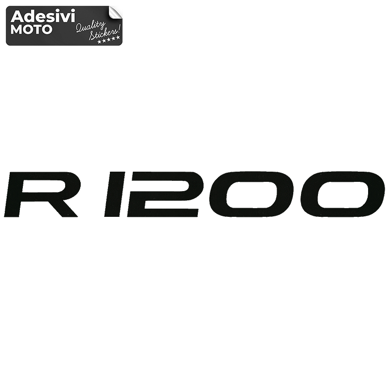 """Adesivo """"R 1200"""" Bmw Serbatoio-Codone-Casco - R 1200 GS"""