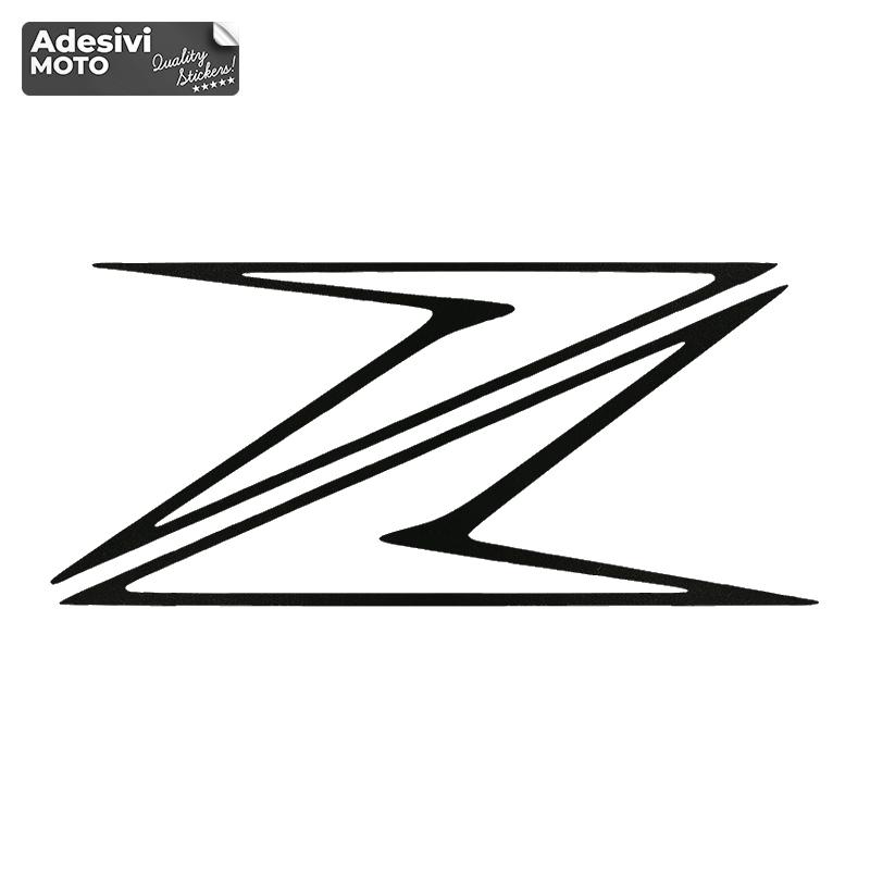 """Adesivo Kawasaki """"Z"""" Generico Tipo 2 Fiancate-Serbatoio-Codone-Casco"""