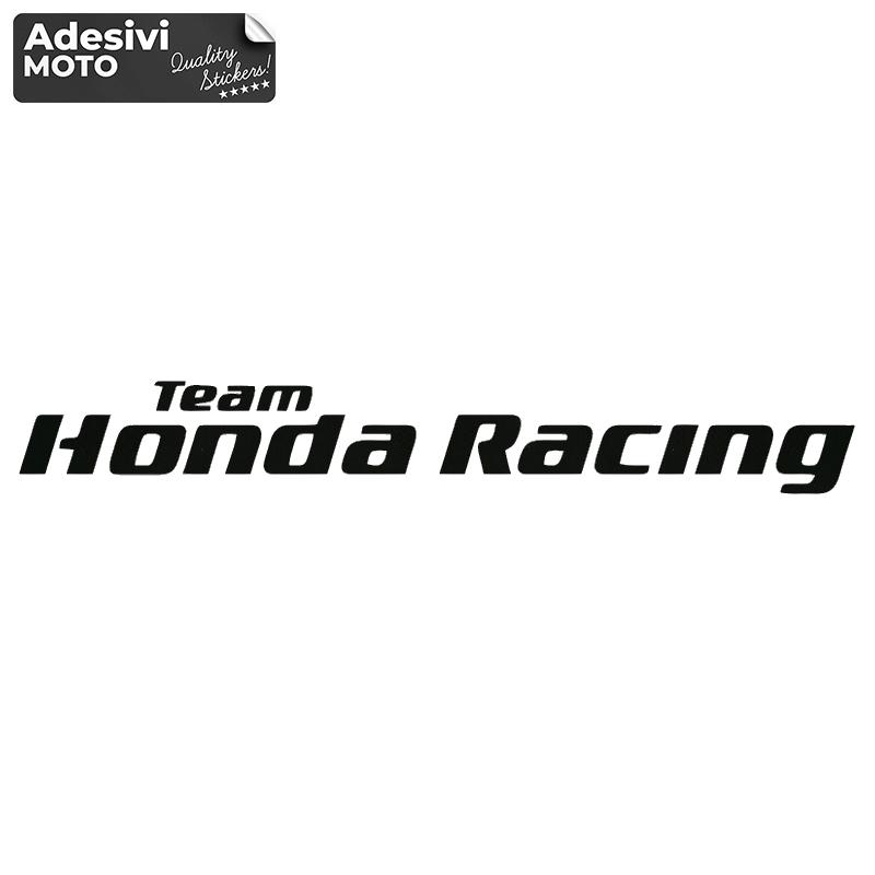 "Adesivo ""Team Honda Racing"" Serbatoio-Vasca-Codone-Casco"