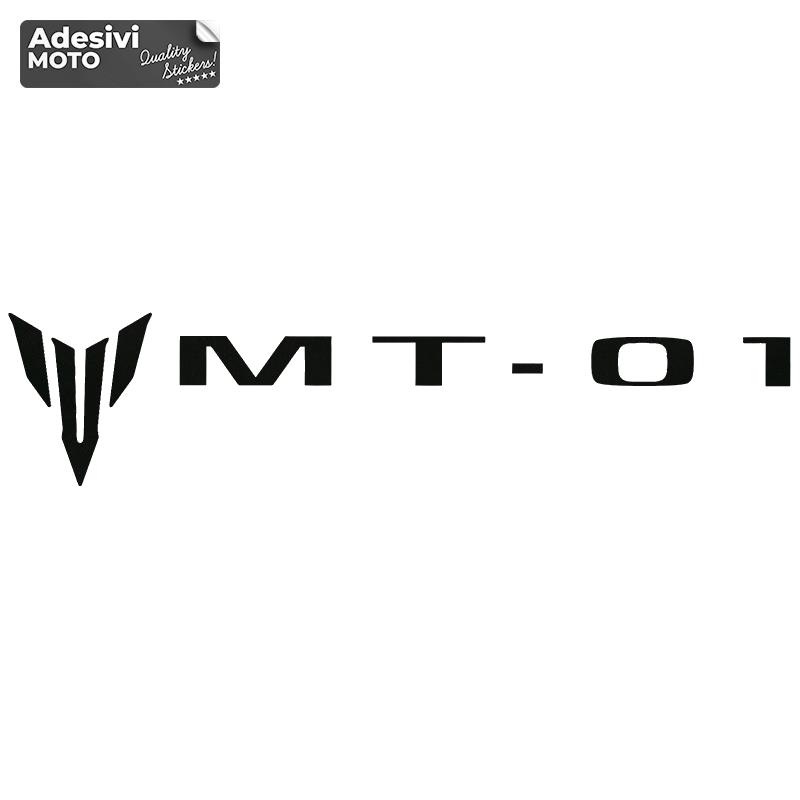 "Adesivo Logo + ""MT-01"" Serbatoio-Vasca-Codone-Fiancate-Parafango-Casco"