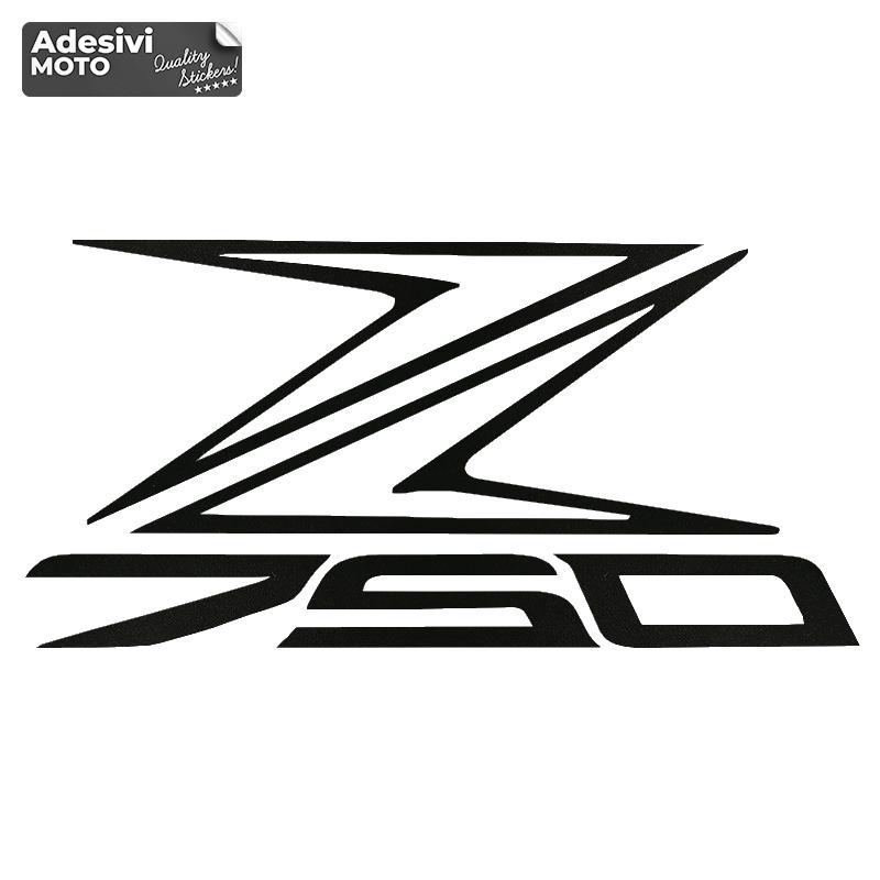 "Adesivo Kawasaki ""Z750"" Tipo 2 Fiancate-Serbatoio-Codone-Casco - Z750"