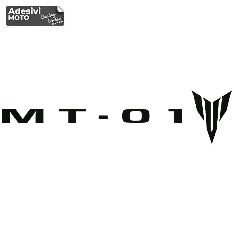 """Adesivo """"MT-01"""" + Logo Tipo 2 Serbatoio-Vasca-Codone-Fiancate-Parafango-Casco"""