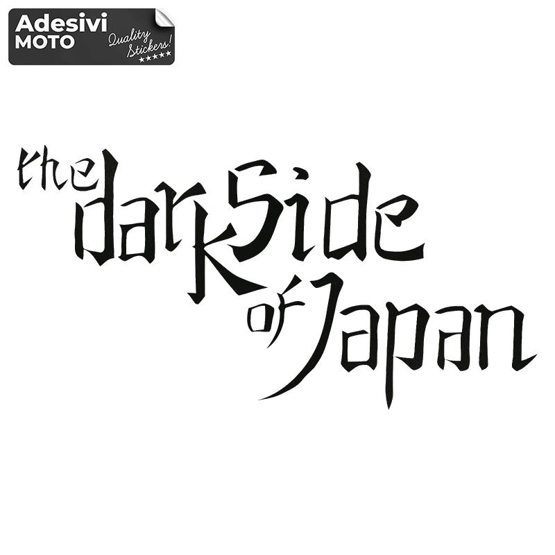 "Adesivo ""The Dark Side of Japan"" Serbatoio-Codone-Fiancate-Parafango-Casco"