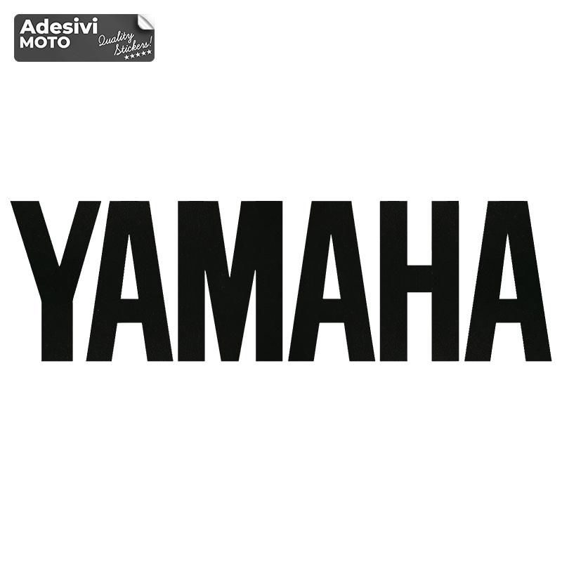 """Adesivo """"Yamaha"""" + Logo Serbatoio-Vasca-Codone-Casco - Yamaha"""
