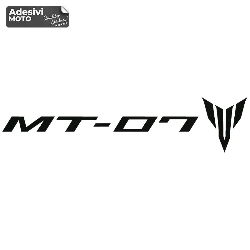"""Adesivo """"MT-07"""" + Logo Serbatoio-Codone-Fiancate-Parafango-Casco"""
