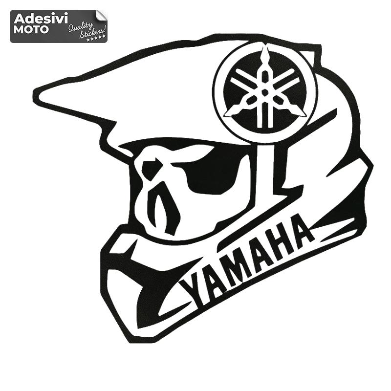 Adesivo Casco Yamaha + Logo Serbatoio-Casco-Vasca-Codone-Parafango-Fiancate - Yamaha