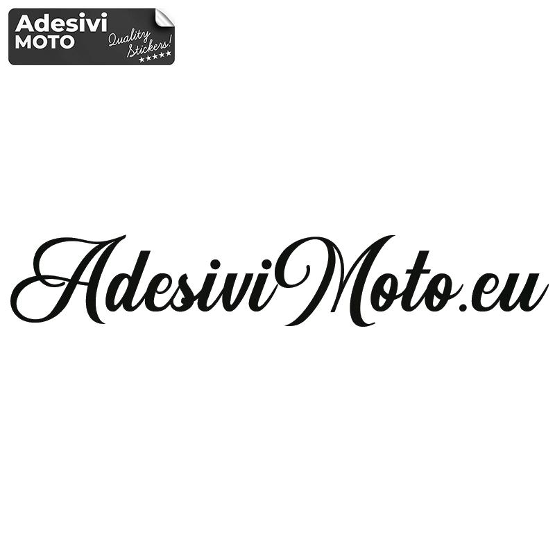 Adesivo Testo Personalizzato Scrittura a Mano Tipo 2 per Moto-Casco-Serbatoio