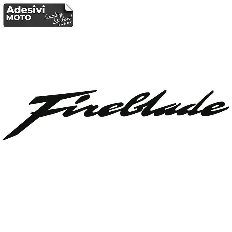 """Adesivo """"Fireblade"""" Tipo 2 Serbatoio-Fiancate-Vasca-Codone-Casco"""
