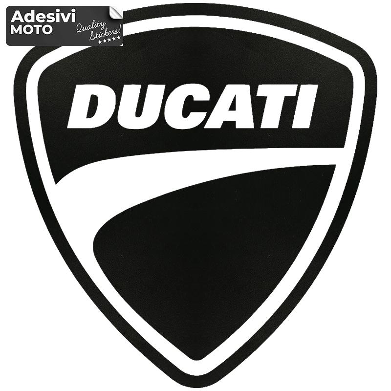 "Logo ""Ducati"" Sticker Gas Tank-Sides-Tip-Tail-Helmet - Adesivi Moto"