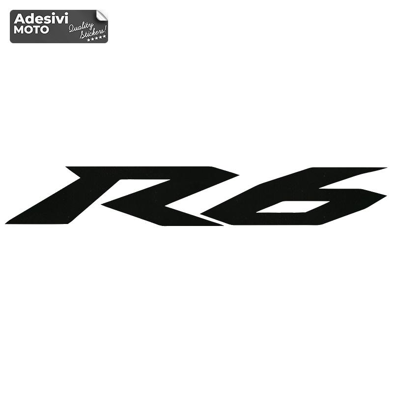 """Adesivo Yamaha """"R6"""" Tipo 4 Serbatoio-Parafango-Vasca-Codone-Casco"""
