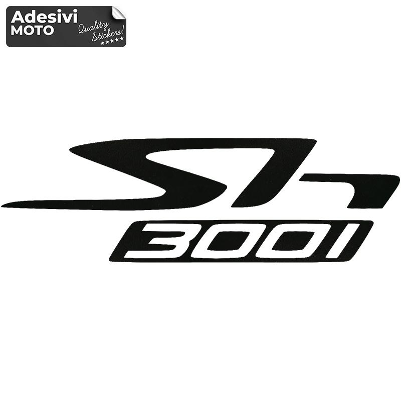 """Adesivo """"SH300i"""" Tipo 3 Serbatoio-Fiancate-Vasca-Codone-Casco"""