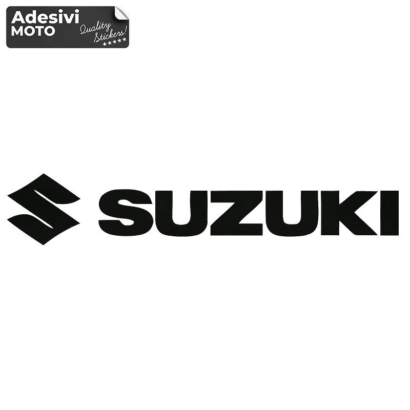 "Adesivo ""Suzuki"" + Logo Serbatoio-Parafango-Vasca-Codone-Casco - Suzuki"