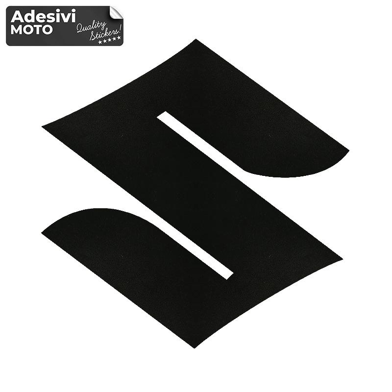Adesivo Logo Suzuki Serbatoio-Parafango-Vasca-Codone-Casco - Suzuki