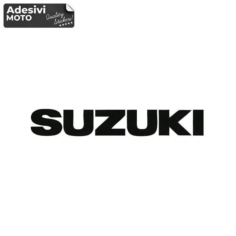 "Adesivo ""Suzuki"" Serbatoio-Parafango-Vasca-Codone-Casco - Suzuki"