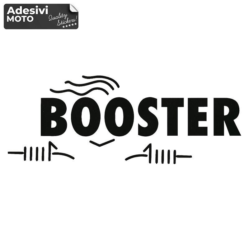 """Adesivo """"Booster"""" Tipo 3 Fiancate-Serbatoio-Codone-Casco - Booster"""