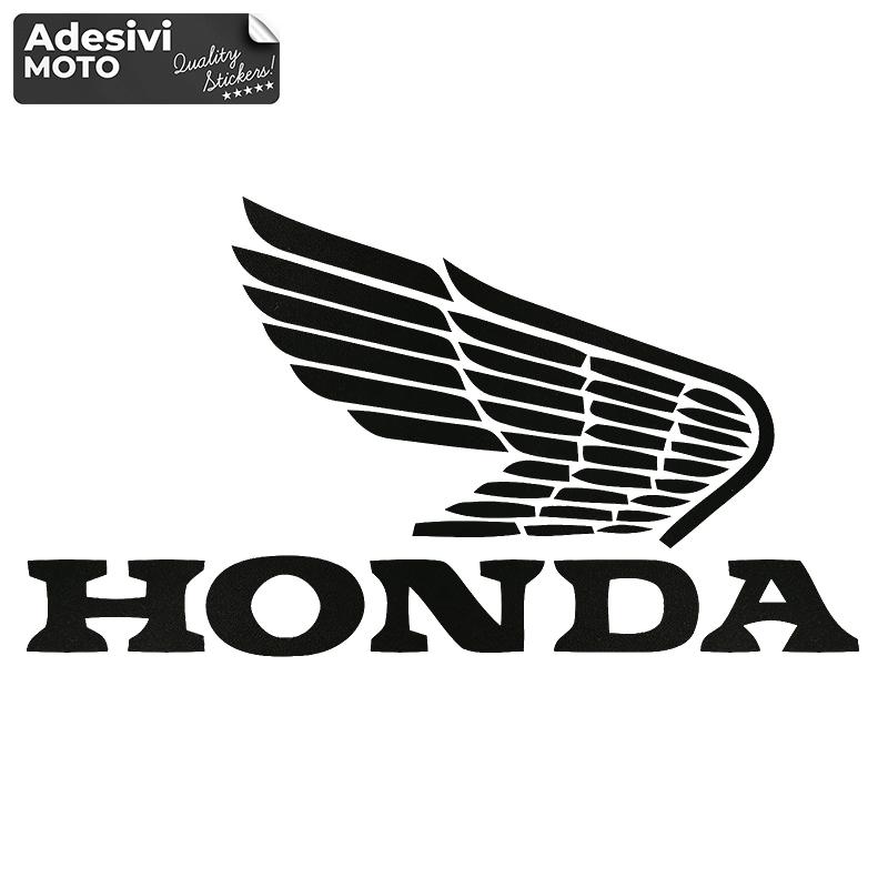 "Adesivo Logo + ""Honda"" Vintage Casco-Parafango-Fiancate-Serbatoio-Codone"