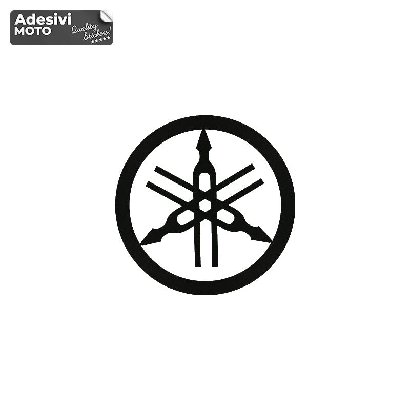 Adesivo Logo Yamaha Serbatoio-Vasca-Codone-Casco - Yamaha