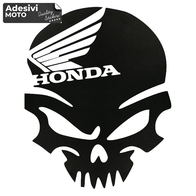 Adesivo Scheletro Honda Tipo 2 Casco-Parafango-Fiancate-Serbatoio-Codone