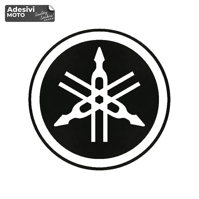 Adesivo Logo Yamaha 2 Serbatoio-Vasca-Codone-Casco - Yamaha